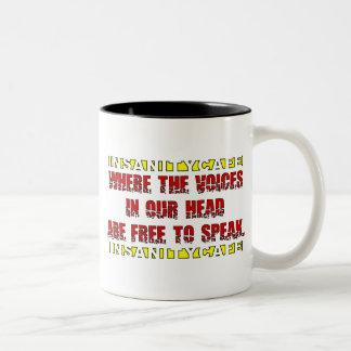 Stemmen Tweekleurige Koffiemok