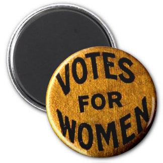 Stemmen voor Vrouwen - Magneet