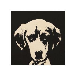 """Stencil Houten 8 """" x8"""" het Art. van de brak van de Hout Afdruk"""