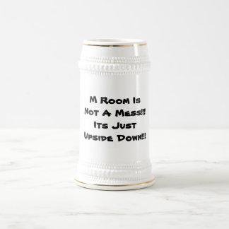 stenen bierkroes mok met een grappig bericht