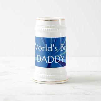 Stenen bierkroes van het Bier van de Papa van Bierpul