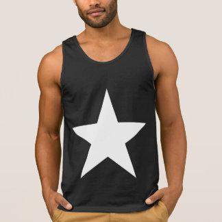 Ster (+w)/Katoenen van het Mannen UltraTanktop Hemd