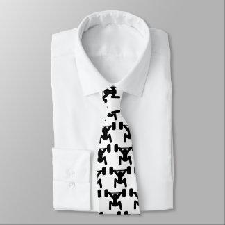 Sterk ben eigen stropdas