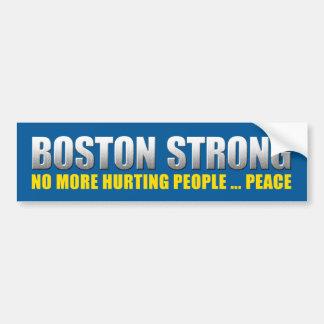 Sterk Boston - Niet meer Kwetsende Vrede van Bumpersticker