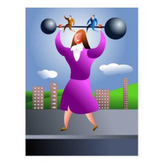 Sterke Vrouw Briefkaart