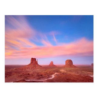 Sterke Winden over de Vallei van de Woestijn Briefkaart
