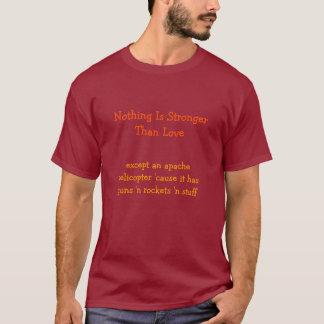 Sterker dan Liefde. t-shirt van de Valentijnsdag