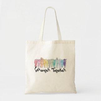 Sterker samen Canvas tas