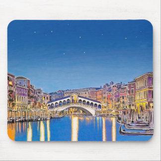 Sterren over Venetië Muismat