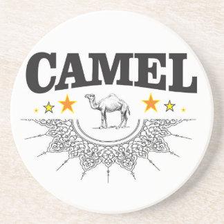 sterren van de kameel zandsteen onderzetter
