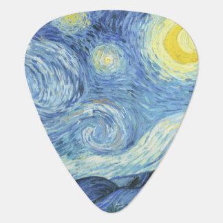 Sterrige Nacht door Van Gogh Plectrum