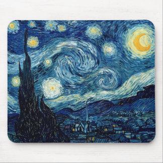 Sterrige Nacht door Vincent van Gogh Muismat