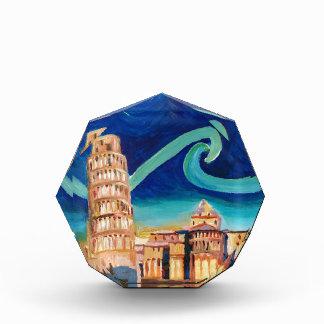 Sterrige Nacht in Pisa met Leunende Toren Prijs