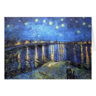 Sterrige Nacht: Van Gogh Kaart
