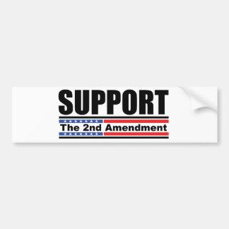 Steun de 2de Sticker van de Bumper van het Amendem