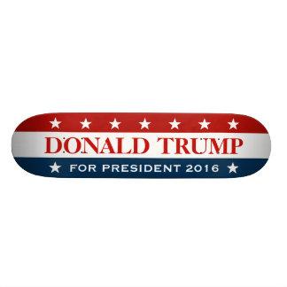 Steun Donald Trump voor President 2016 Skateboard Deck