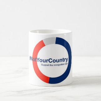 Steun het Verbod van de Immigratie Koffiemok