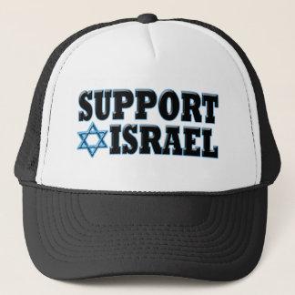 Steun Israël Trucker Pet