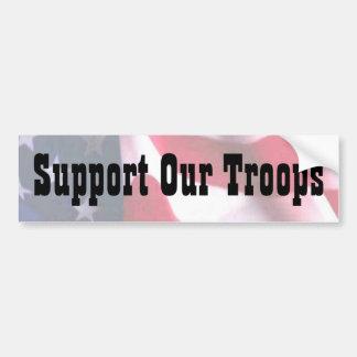 Steun Onze Troepen Bumpersticker