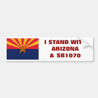 Steun SB1070, Steun Arizona Bumpersticker