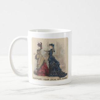 Steun Uw Lokale Troep van het Meisje Koffiemok