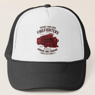 Steun uw lokale Vechters van de Brand Trucker Pet