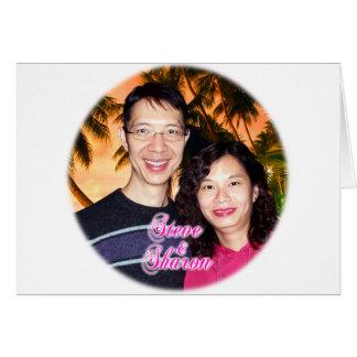 Steve & Sharon Wenskaart
