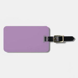 Stevige Afrikaanse Violette Paars Kofferlabel