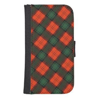 """Stewart van"" het Schotse Geruite Schotse wollen Galaxy S4 Portemonnee Hoesje"