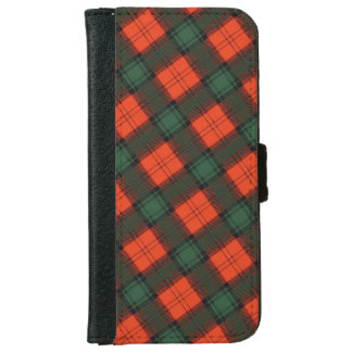 """""""Stewart van"""" het Schotse Geruite Schotse wollen iPhone 5 Portefeuille Hoesje"""