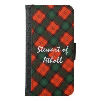 """Stewart van"" het Schotse Geruite Schotse wollen Samsung Galaxy S6 Portemonnee Hoesje"