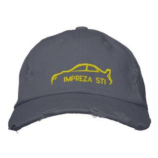 STI van Subaru Impreza Geborduurde Pet