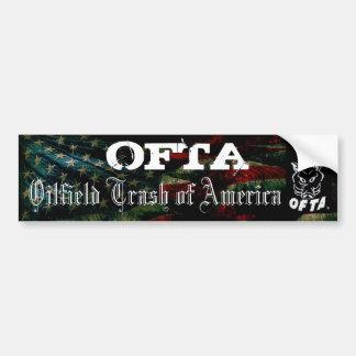 Sticker 2 van de Bumper OFTA