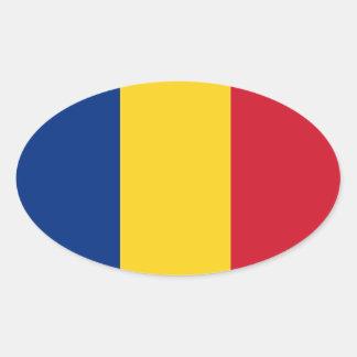 Sticker autocolant România van de Vlag van