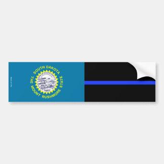 Sticker Bumper van de Zuid- van Dakota de Dunne