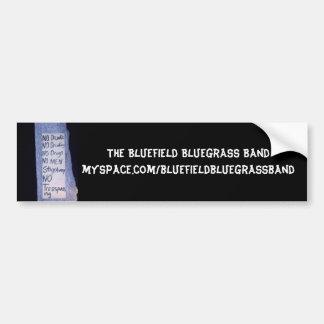 Sticker de zonder titel van de Bumper