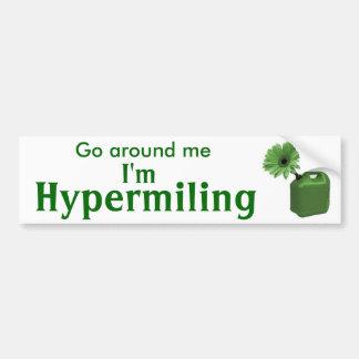 Sticker I van de Bumper van Hypermiling