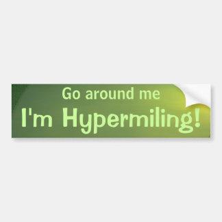 Sticker II van de Bumper van Hypermiling