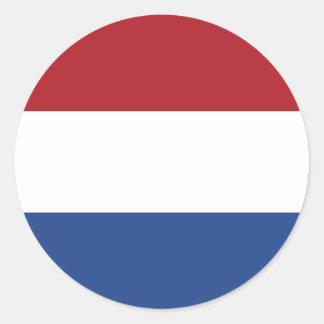 Sticker met Vlag van Nederland