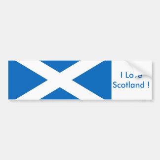 Sticker met Vlag van Schotland