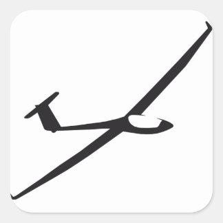 Sticker omgekeerd zweefvliegtuig