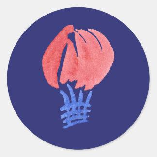 Sticker van de Ballon van de lucht de Kleine