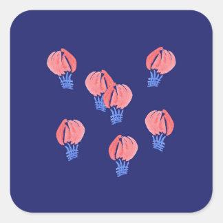 Sticker van de Ballons van de lucht de Kleine