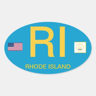 Sticker van de Bumper van de euro-Stijl van Rhode