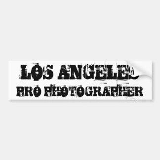 Sticker van de Bumper van de FOTOGRAAF van LOS ANG