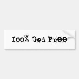 Sticker van de Bumper van de god de Vrije