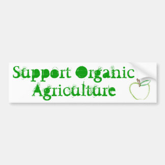 Sticker van de Bumper van de Landbouw van de steun
