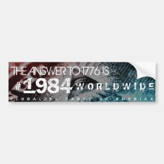 Sticker van de Bumper van de Orde van de Wereld va