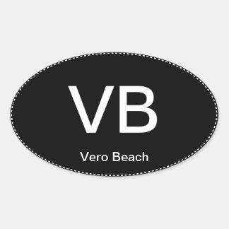 Sticker van de Bumper van het Strand van VB Vero