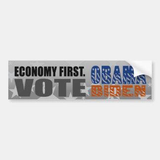 Sticker van de Bumper van Obama Biden van de Stem